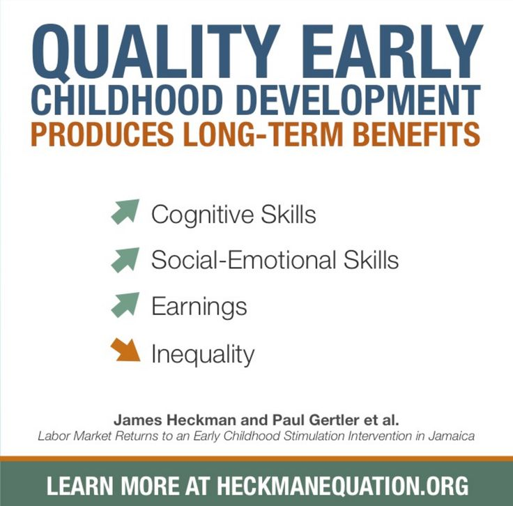 effects of early childhood High-quality early childhood education has the greatest positive effect on children from lower socioeconomic status and children who are at risk because of family or .