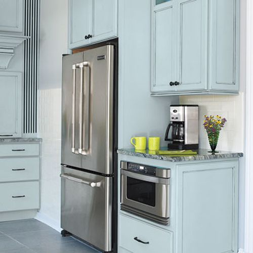 Kitchen Cabinets For Microwave: 1000+ Ideas About Hidden Microwave On Pinterest