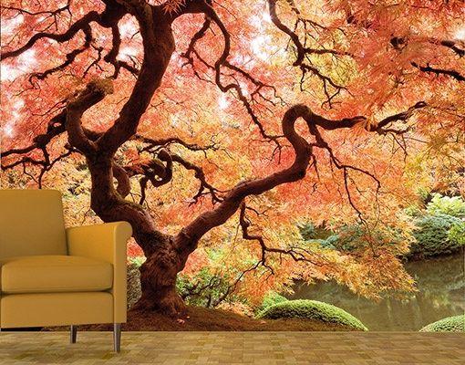 Mantiburi Japanse tuin Fotobehang Japanese Garden 238