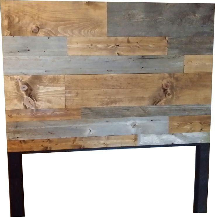 Barn Wood and Plank Wood Headboard from Vintage Headboards