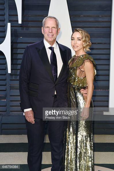 News Photo : Steve Tisch and Katia Francesconi wearing Alexander Mcqueen attend the 2017...