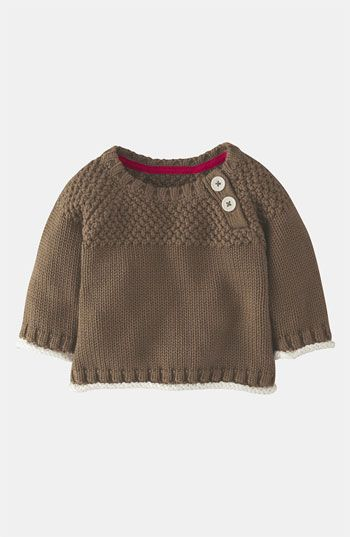 Mini Boden Knit Sweater (Infant) available at Nordstrom