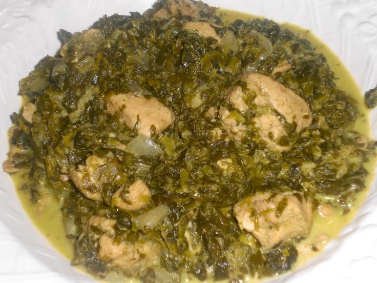 Paleo Chicken Saag