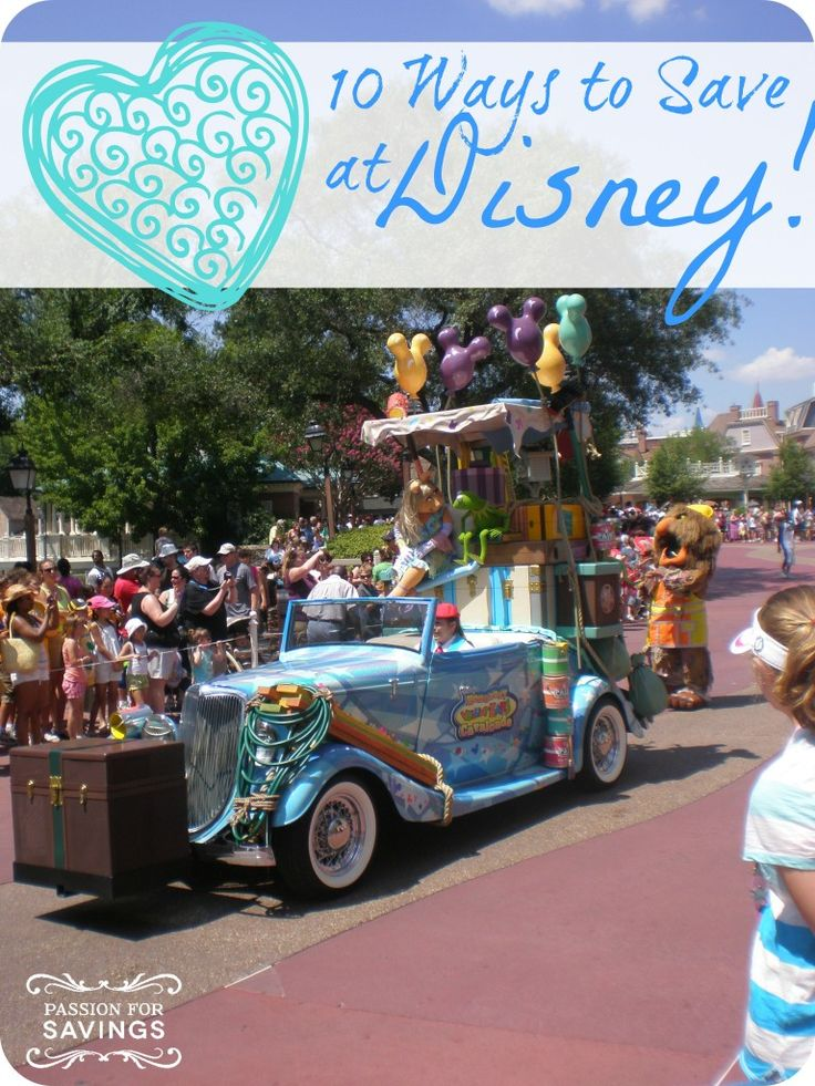 If you are headed to Disney in the near future, be sure to check out these 10 ways to save at Disney!