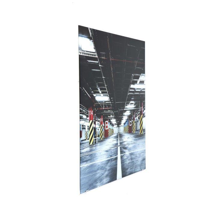 Πίνακας Glass Triptychon Garage 80x240 (3/set) Μία εντυπωσιακή underground εικόνα ενός γκαράζ, ψηφιακή εκτύπωση σε φύλλο πολυπρολυλενίου πάνω σε γυαλί 4mm.