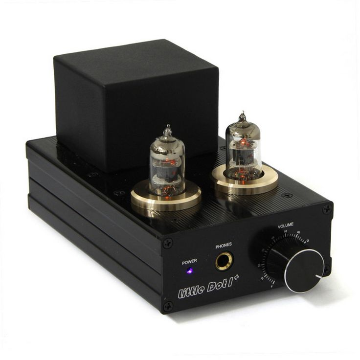 Little Dot Tube Hybrid Headphone Amplifier.