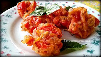Polvere Di Zenzero Candito: Frittelle greche di pomodori - Domatokeftedes