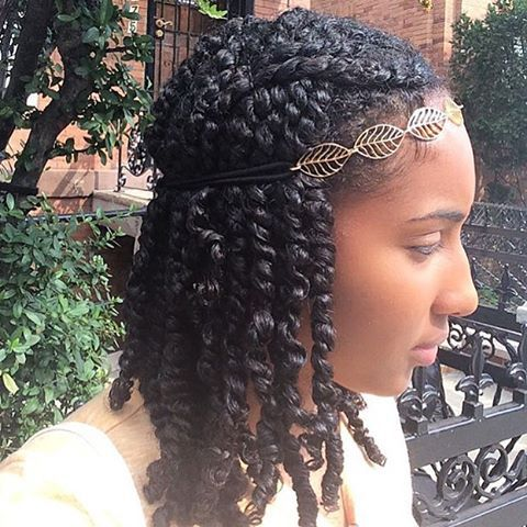 Astonishing 1000 Ideas About Natural Hair Twists On Pinterest Natural Hair Short Hairstyles For Black Women Fulllsitofus