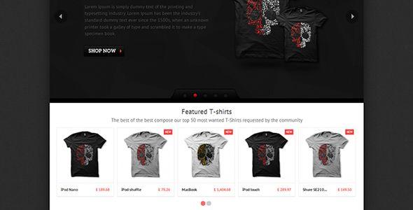 T-shirts - PrestaShop Theme