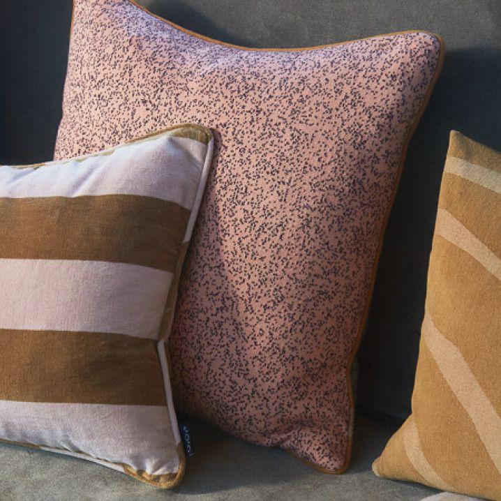 Federe Cuscini 40x60.Oyoy Confect Velvet Cushion Rose Amber 100 Cotton 40x60 Cm