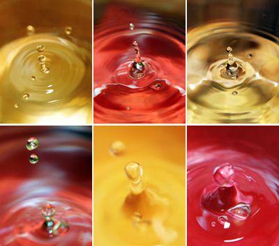Apprenez à figer des gouttes d'eau