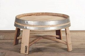 "Winebarrel table ""Champagne"""
