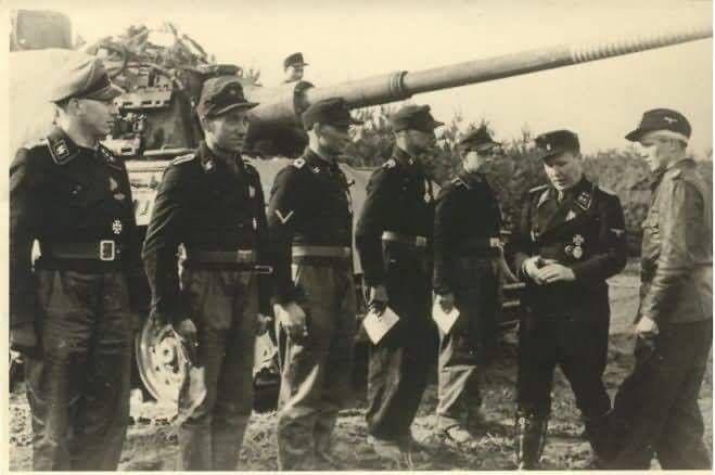 Königstiger of the Schwere SS-Panzerabteilung 503