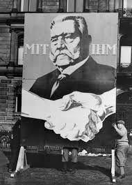 """Paul von Hindenburg - """"mit Ihm"""" campaign poster 1932"""