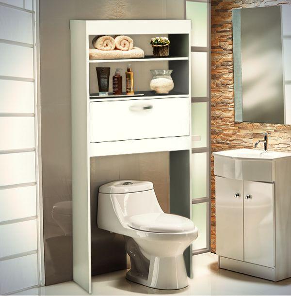 Más espacio, más orden y mucha más belleza en tu baño. Sin dudas, los interiores que tu baño necesita.