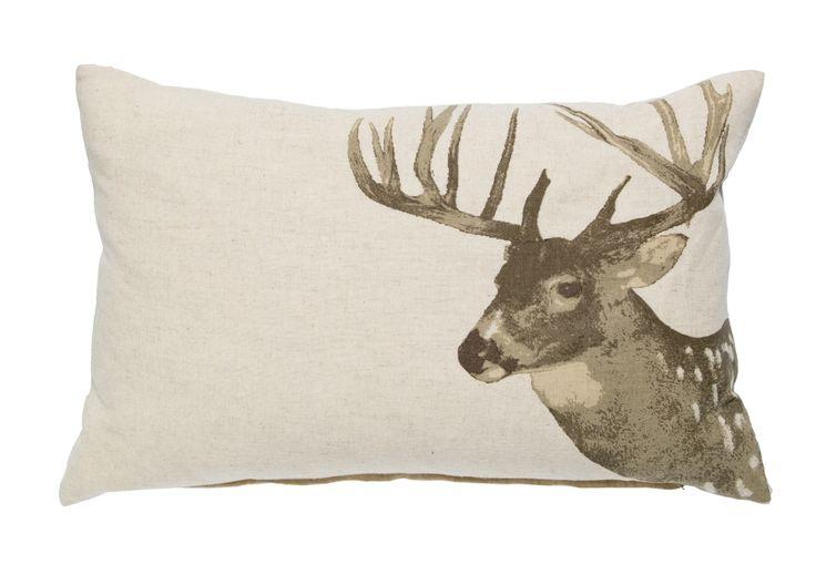 SOUL Lodge Cushion - Reindeer