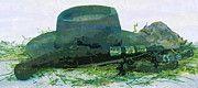 "New artwork for sale! - "" Pistol Spores Hay Hat Wild West  by PixBreak Art "" - http://ift.tt/2lxmAPm"