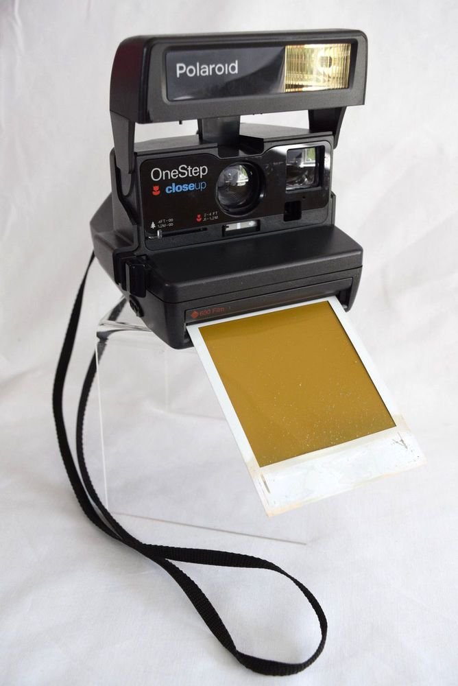 #VintagePhotography Polaroid One Step Close Up 600 Instant Film #Camera #Polaroid #Photography