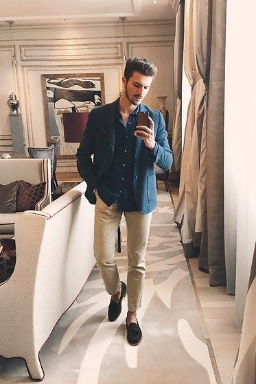 Mirror Chic Look for Him