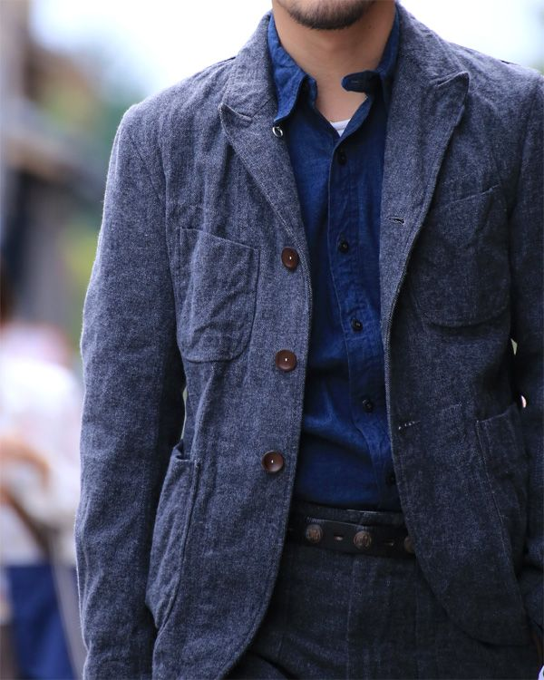 Engineered Garments. You might also like: 5 Mistakes You're Making as a Boss and as a Lover https://blog.dapulse.com/5-mistakes-youre-making-boss-lover-fix/?utm_source=pinterest&utm_medium=blog&utm_content=content&utm_campaign=startup-chic-men