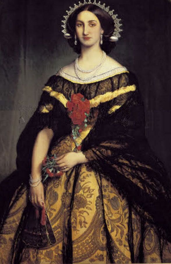 Carlota Amalia de Bélgica, hija del rey Leopoldo I de Bélgica (primero de la Casa de Sajonia-Coburgo-Gotha). casada con  Maximiliano  de Habsburgo-Lorena . Emperador de México, Virrey de Lombardía-Venecia