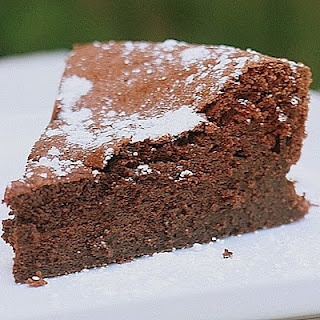 Cracked Chocolate Earth Cake.....no flour only 4 ingredients