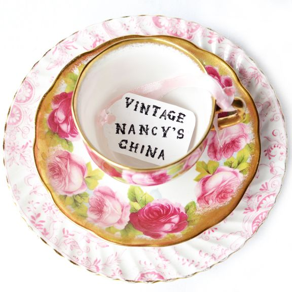 A large selection of our vintage china is available in our Etsy shop.  From quintessential vintage English china tea sets, to vintage cutlery, to elegant cake stands made from carefully selected pi...