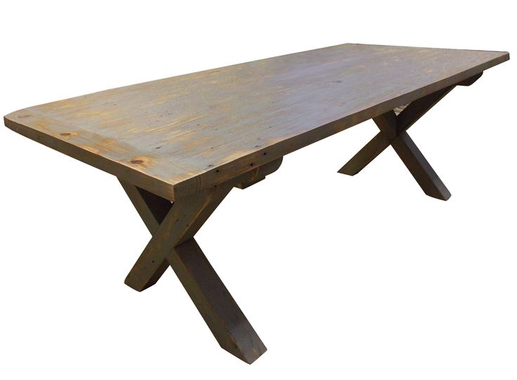 Rustic Farmhouse Table By Evolutia Click To Read More About This