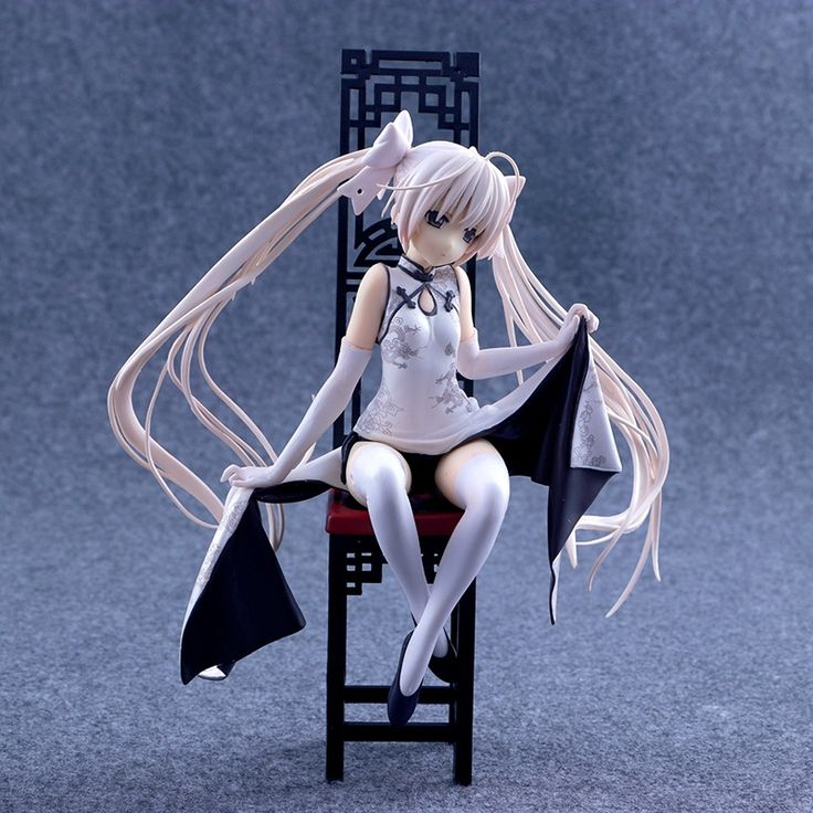 24.29$  Watch here - http://alilq7.shopchina.info/go.php?t=32745396431 - Anime Sexy Figure Yosuga no Sora Kasugano Sora Sexy China Dress Ver. PVC Action Figures Collectible Model Toys Doll 22cm ACAF061  #magazineonlinewebsite