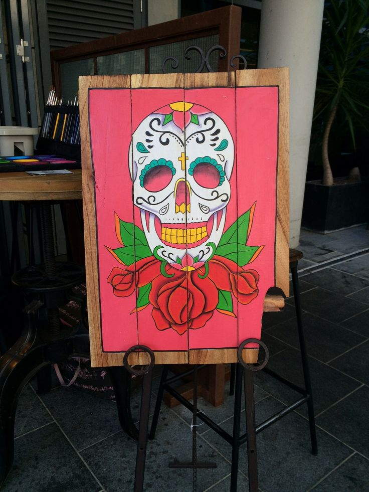 Day of the Dead Mexican Signage