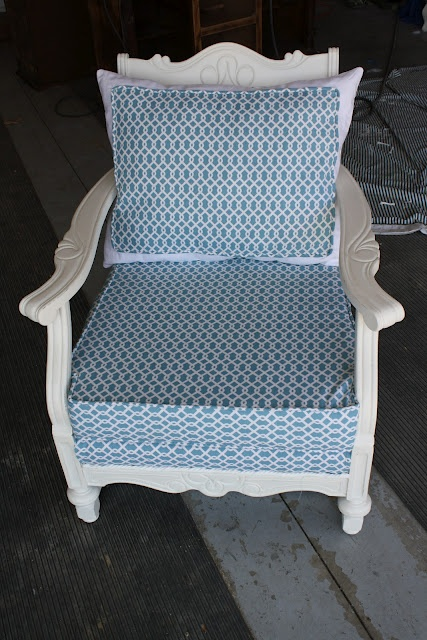 redone chair