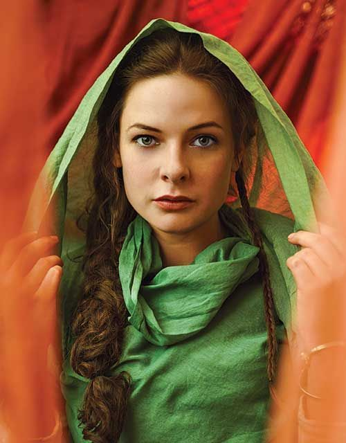 Rebecca Ferguson, When she was eighteen she wore green robes to mark her as a daughter of the forest and she swore her blood to defend the trees. An old rite that, a promise echoing down the years to all her foremothers. Even her own mother did the necessary.