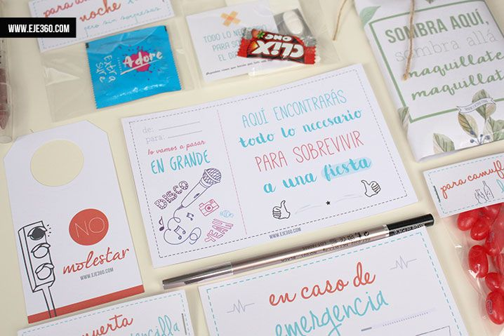 M s de 1000 ideas sobre kits de supervivencia de boda en for Ideas regalo boda amigos