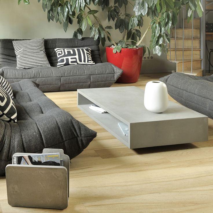 die besten 17 ideen zu couchtisch beton auf pinterest. Black Bedroom Furniture Sets. Home Design Ideas