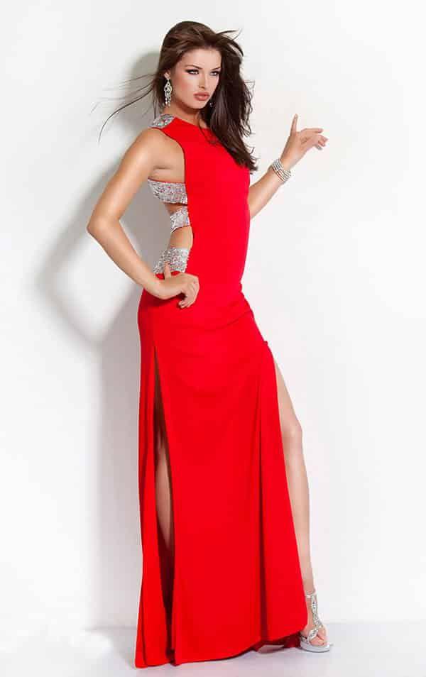 Фасоны длинных платьев: ТОП 18 самых стильных фасонов | LadyWow - Платье труба с разрезами