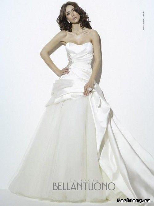 Bellantuono весна-лето 2013: свадебная коллекция / итальянские свадебные платья…