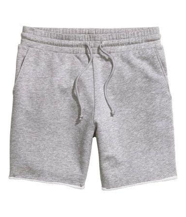 Sweatshorts | Graumeliert | Herren | H&M DE