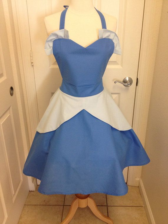 Cinderella adult apron