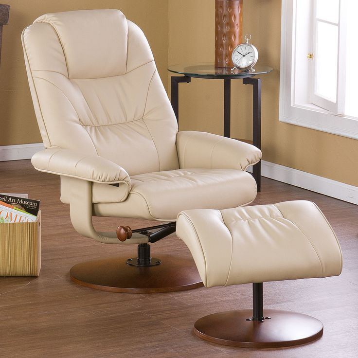 Wildon Home ® Urban Ergonomic Recliner And Ottoman U0026 Reviews | Wayfair