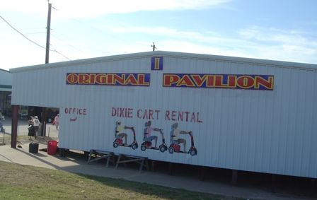 The Original Pavilion at the largest outdoor flea market in the USA! First Monday Trade Days in Canton TX