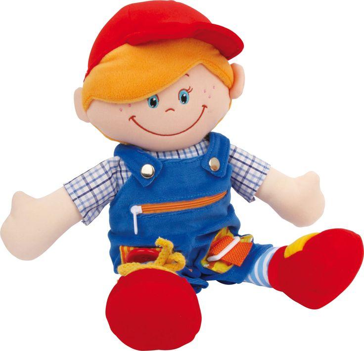 bábika na prezliekanie chlapec