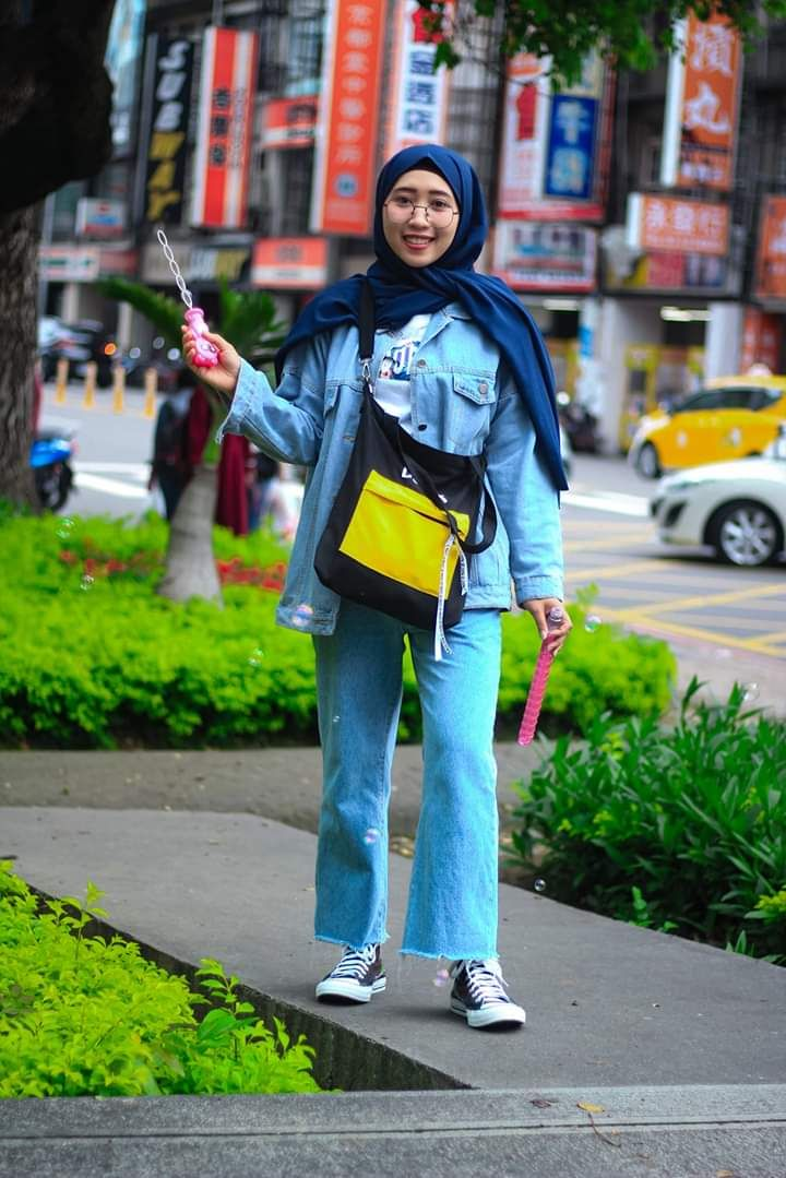 Hijab Diamond Sepatu Converse By Rikasangkil Hsinchu City Tawan
