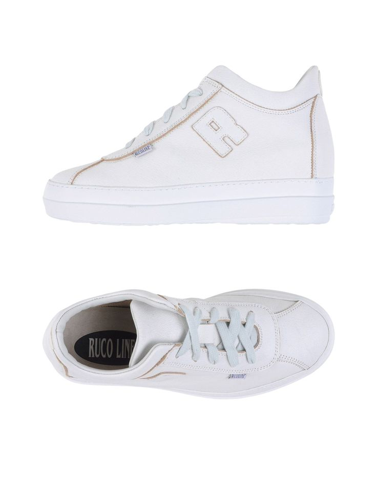 gave Ruco line  low-tops damessneakers (wit)