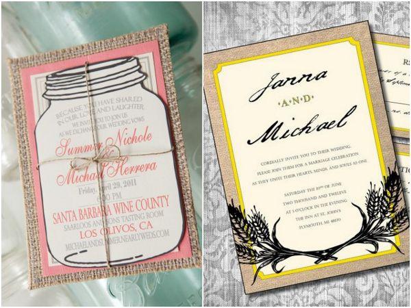 15 best burlap wedding ideas images on pinterest burlap weddings burlap wedding invitations weddings burlap invitations solutioingenieria Image collections