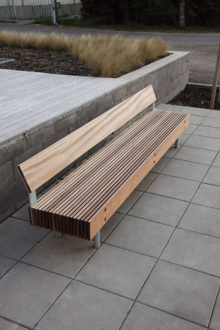 Timber Bench. Urban FurnitureGarden FurnitureOutdoor ...