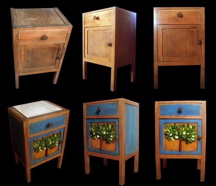 Oltre 20 migliori idee su dipingere mobili vecchi su - Mobili grezzi da dipingere ...