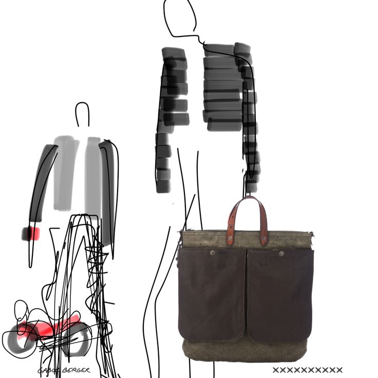PILOT Man Bag as seen by our designer friend Gabor Berger.