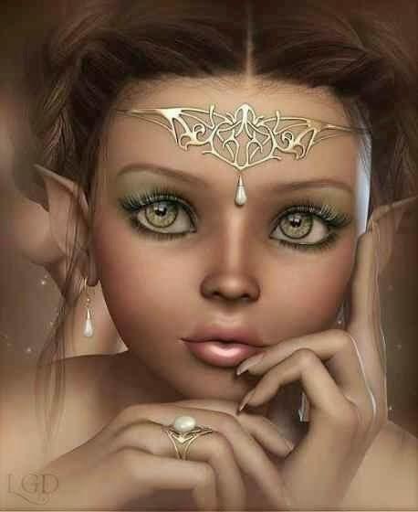 Origin Wide-Eyed Angel