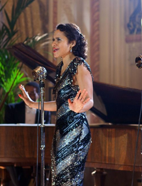 Angel Coulby as Jessie in Dancing on the Edge (TV Series, 2013).