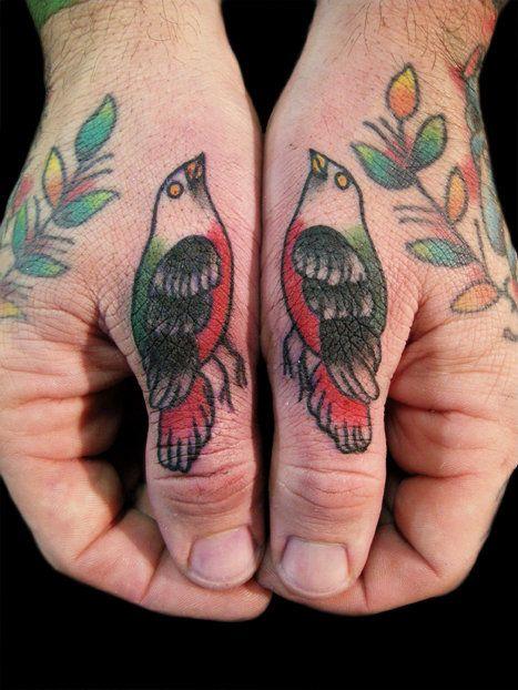 Twin Birds...Birds Tattoo, Fingers Tattoo, Little Birds, Tattoo Inspiration, Tattoo Artists, Hands Tattoo, Ink Tattoo, Tattoo Ink, Henna Tattoo